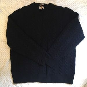 Wallace and Barnes Navy Sweater
